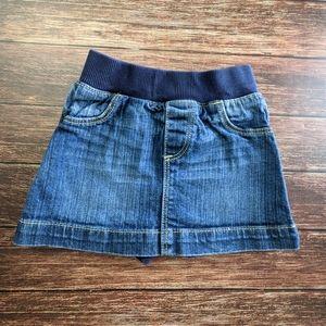 Denim Jean Skort Shorts